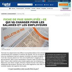 Fiche de paie simplifiée : ce qui va changer pour les salariés et les employeurs