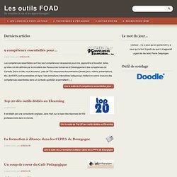 Les outils FOAD - Se simplifier la vie et les apprentissages !