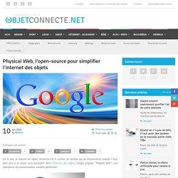 Physical Web, l'open-source pour simplifier l'internet des objets