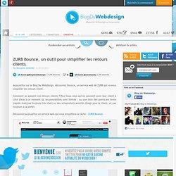 ZURB Bounce, un outil pour simplifier les retours clients - service-web