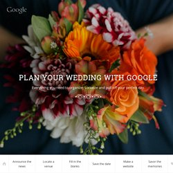 Google Wedding Planning