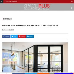 Simplify Your Workspace for Enhanced Clarity and Focus