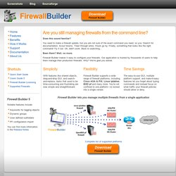 Firewall Builder
