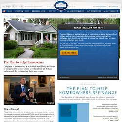 We all stand to benefit by simplifying refinancing