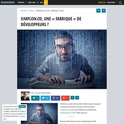 """Simplon.co, une """"fabrique"""" de développeurs ?"""