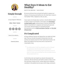 Simply Enough | Simple Living for a Better World