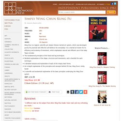 Simply Wing Chun Kung Fu by Shaun Rawcliffe, 9781861265968
