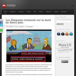 Les Simpsons ironisent sur la mort de Steve Jobs