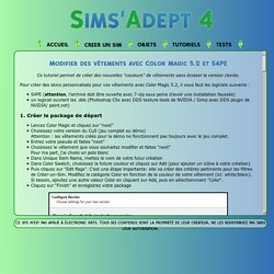 SIMS'ADEPT 4