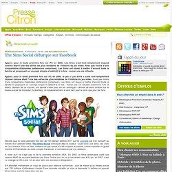 The Sims Social débarque sur Facebook
