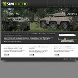 Home - Simthetiq - Advanced 3D Solutions