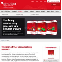 Simufact Products
