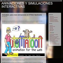 Animaciones y simulaciones interactivas