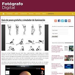Guía de poses gratuita y simulador de iluminación
