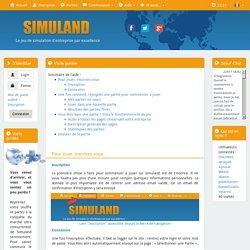 Aide : Visite guidée - Simuland.net - n°1 de la simulation d'entreprise en ligne