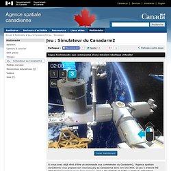 Jeu: Simulateur du Canadarm2