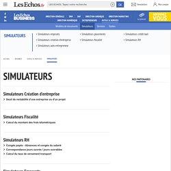 Simulateur entreprise : emprunt, fiscal, placements, comptabilité, crédit bail, Simulation gestion entreprise - Entrepreneur.lesEchos.fr