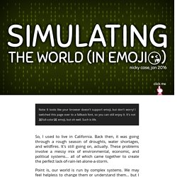Simulating The World (In Emoji)