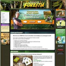 Bienvenue sur FORESTIA – un jeu de simulation forestière sur SCIENCE EN JEU