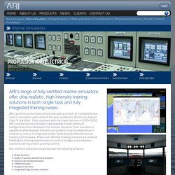 Maritime Simulator, Marine Simulation