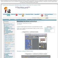 Simulation du portail automatique