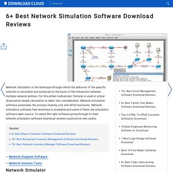6+ Best Network Simulation Software Download Reviews