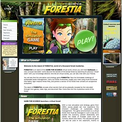 FORESTIA – A Simulation Game on Sustainable Forest Management