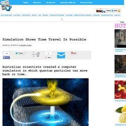 » Simulation Shows Time Travel Is Possible
