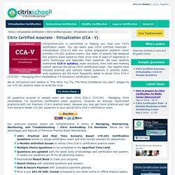 1Y0-201: Citrix CCA-V Simulations and Sample Questions