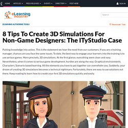 8 Tips To Create 3D Simulations For Non-Game Designers: The ITyStudio Case