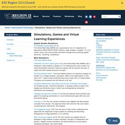Simulations, Games and Virtual Learning Experiences