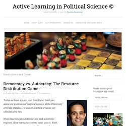 Active Learning in Political Science ©