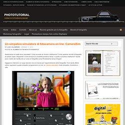Un simpatico simulatore di fotocamera on line: CameraSim