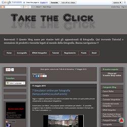 Take the Click: 7 Simulatori online per fotografia (tempi,obiettivi,iso,diaframmi)