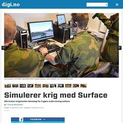Simulerer krig med Surface