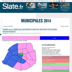 Paris 2014: simulez les résultats des municipales dans les 20 arrondissements