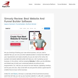 Simvoly Review: Best Website And Funnel Builder Software