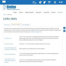 SINDEP - Links úteis
