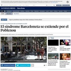 El síndrome Barceloneta se extiende por el Poblenou