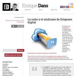 La nube y el síndrome de Diógenes digital