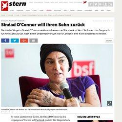 Sinead O Connor kämpft um ihren Sohn: Erneut wirre Postings auf Facebook - Leute
