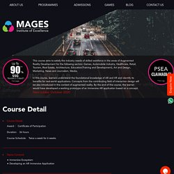 Augmented Reality Courses in Singapore
