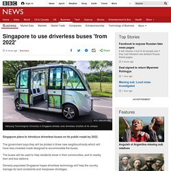Singapore Introduces Driverless Buses
