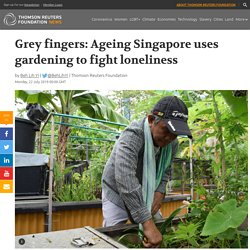 How gardening is being used to tackle loneliness in Singapore