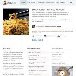 Singapore Stir-fried Noodles