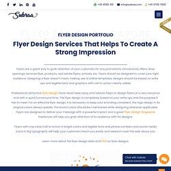 □ Brochure & Professional Flyer Designer