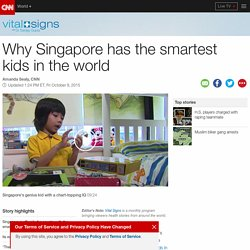 Why Singapore has the smartest kids in the world