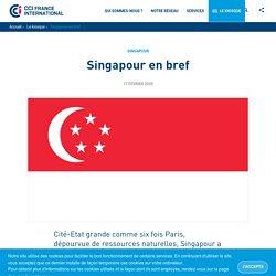 Singapour en bref
