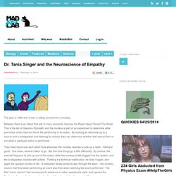 Dr. Tania Singer and the Neuroscience of Empathy