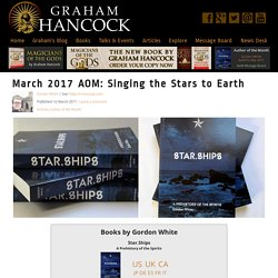 Singing the Stars to Earth - Graham Hancock Official Website
